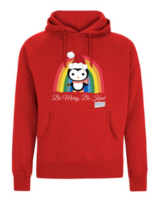 Kids Penguin Be Merry Be Kind NHS Hoodie - Various Colours