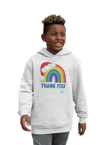 Kids Santa Hat Thank You NHS Hoodie - Various Colours