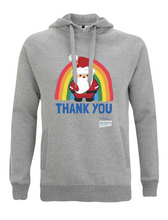 Load image into Gallery viewer, Santa Thank You NHS Hoodie - Various Colours - Adult