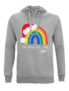 Kids Santa Hat Be Merry Be Kind NHS Hoodie - Various Colours