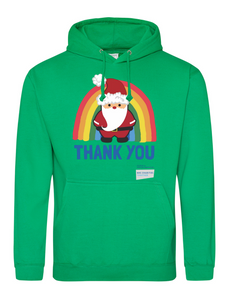 Santa Thank You NHS Hoodie - Various Colours - Adult