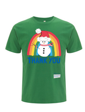 Load image into Gallery viewer, Snowman Thank You NHS T-Shirt - Various Colours - Adult