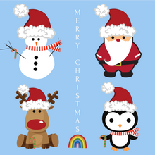 Load image into Gallery viewer, Christmas Cards Pack of 20 - Various Designs