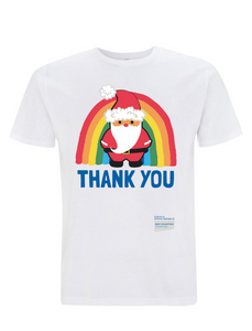 Santa Thank You NHS T-Shirt - Various Colours - Adult