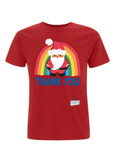 Load image into Gallery viewer, Santa Thank You NHS T-Shirt - Various Colours - Adult