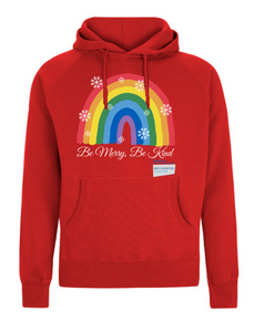 Be Merry Be Kind Thank You NHS Hoodie - Various Colours - Adult