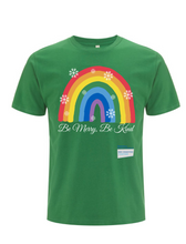 Load image into Gallery viewer, Be Merry Be Kind Thank You NHS T-Shirt - Various Colours - Adult