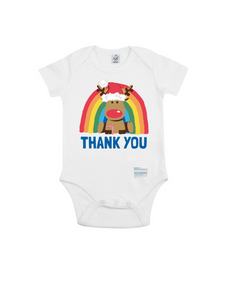Reindeer Thank You NHS Babygrow - Various Colours