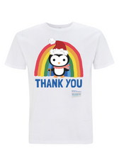 Load image into Gallery viewer, Kid's Penguin Thank You NHS Christmas T-Shirt