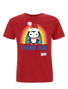 Kid's Penguin Thank You NHS Christmas T-Shirt