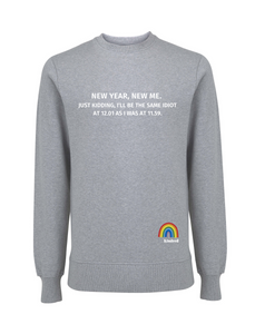 New Year, New Me Jumper - Various Colours - Adult