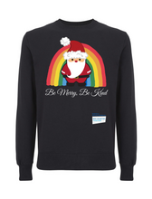 Load image into Gallery viewer, Santa Be Merry Be Kind NHS Jumper - Various Colours - Adult