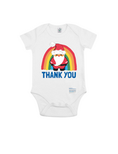 Load image into Gallery viewer, Santa Thank You NHS Babygrow - Various Colours