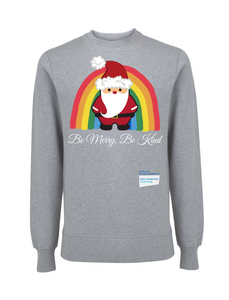 Kids Santa Be Merry Be Kind NHS Sweatshirt - Various Colours