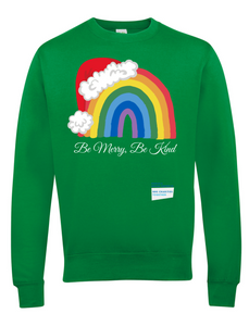 Santa Hat Be Merry Be Kind NHS Jumper - Various Colours - Adult