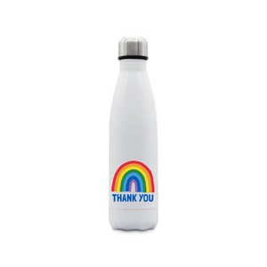 Stainless Steel Rainbow Thermal Drinks Bottle, 500ml