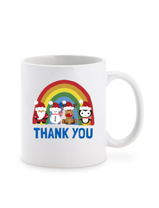 Christmas Thank You NHS Ceramic Mug
