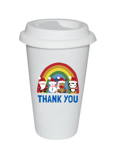 Christmas Thank You NHS Thermal Travel Cup