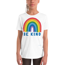 Load image into Gallery viewer, Be Kind Rainbow Kids/Youth Tee - Kindred