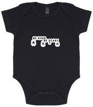 Load image into Gallery viewer, Baby Onesie - Be Kind Be Scary Spiders