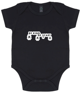 Baby Onesie - Be Kind Be Scary Spiders