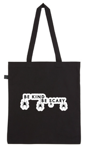Tote Bag - Be Kind Be Scary Spiders