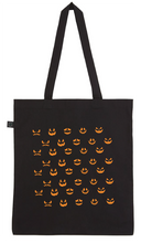 Load image into Gallery viewer, Tote Bag - Be Kind Be Scary Pumpkin
