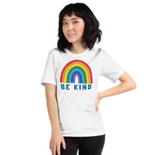 Load image into Gallery viewer, Adult Be Kind Rainbow T-shirt - Kindred