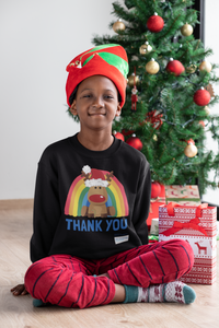 Kids Reindeer Thank You NHS Sweatshirt - Various Colours