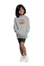 Load image into Gallery viewer, Kids Reindeer Be Merry Be Kind NHS Hoodie - Various Colours