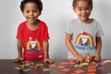 Load image into Gallery viewer, Kid's Santa Thank You NHS Christmas T-Shirt