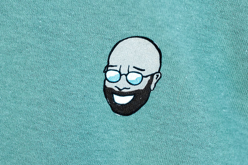 Happy Face Crewneck T-shirt