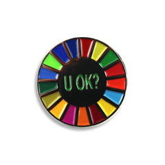 U OK? PIN BADGE SET
