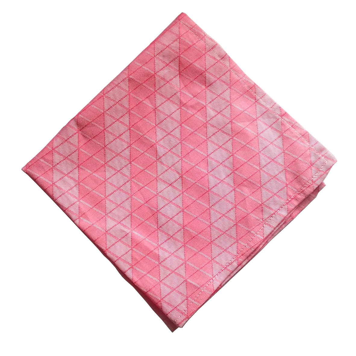 Salmon Irian pocket square