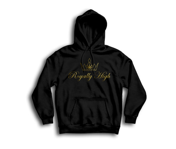Royally High casual 420 black hoodie
