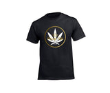 casual 420 black t-shirt for men