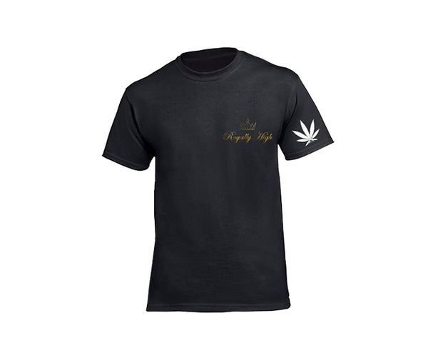 casual 420 black t-shirt for ladies
