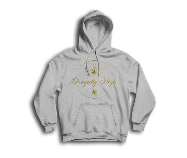 mens heather grey 420 hoodie