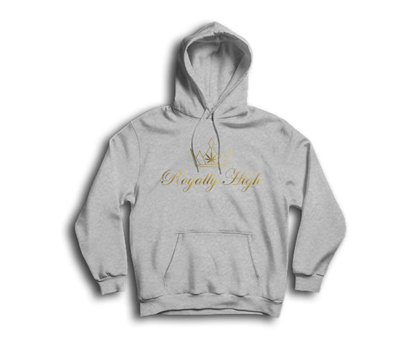 Royally High casual 420 heather grey hoodie