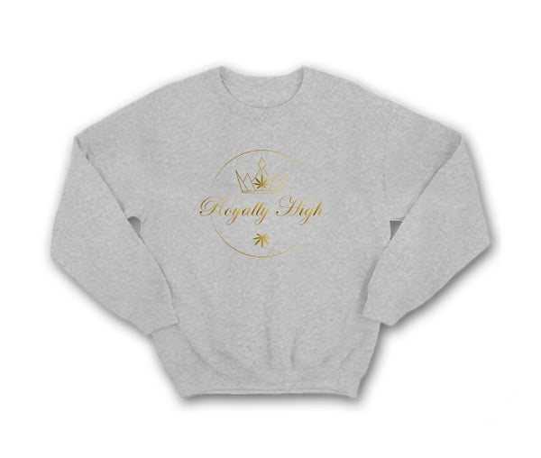 Heather grey 420 urban sweatshirt