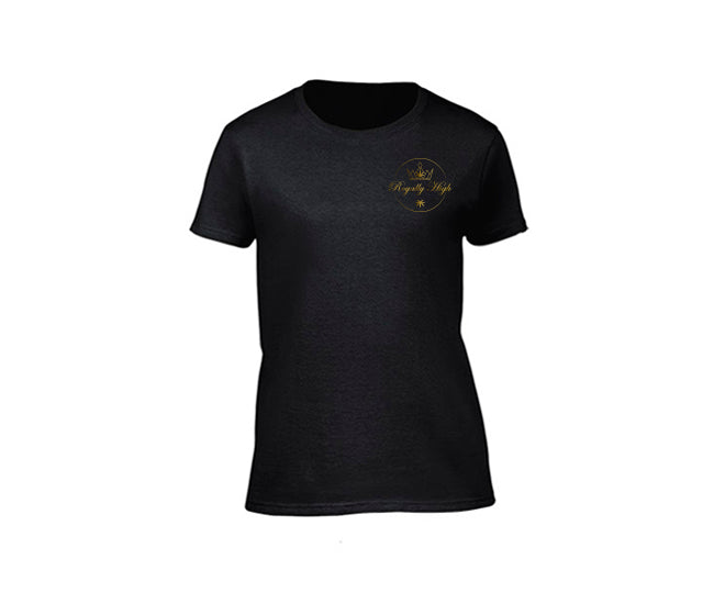 Black casual 420  t shirt for ladies