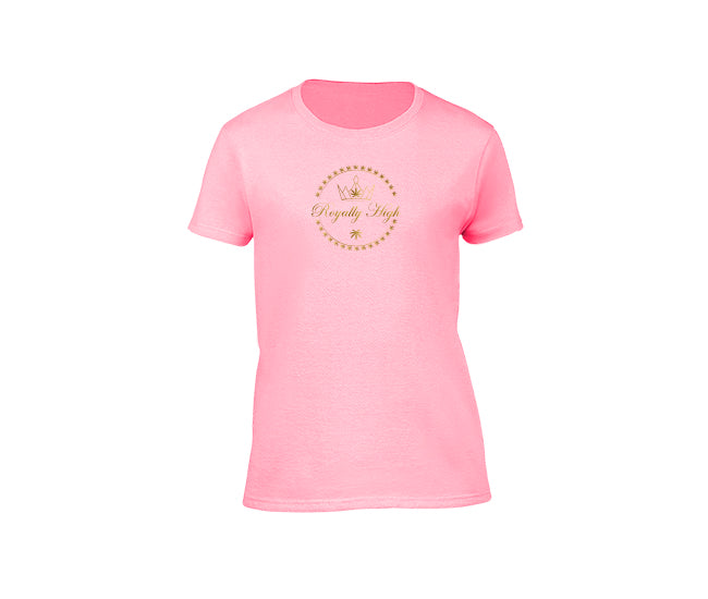 casual pink t-shirt for ladies