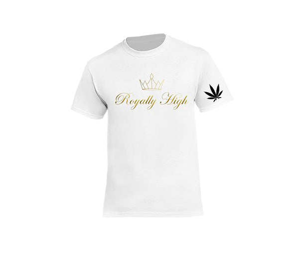 casual white 420 t-shirt for men