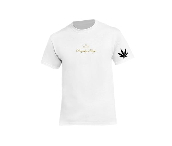 Mens White 420 T-shirt