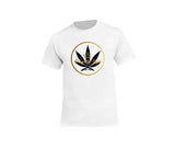 casual 420 white t-shirt for men