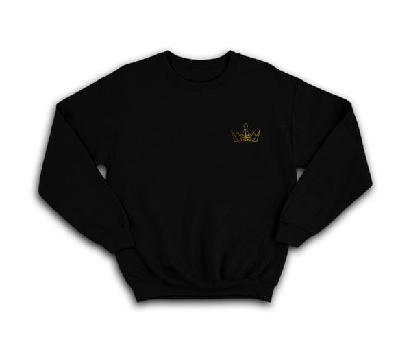 casual black 420 sweatshirt