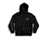 Black Hoodie with pink Royally High Crown