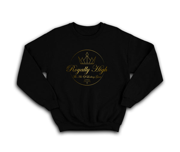 Royally High Black sweatshirt