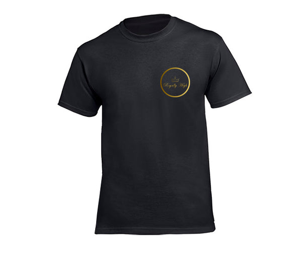 casual black t-shirt for men