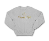 Royally High casualwear Heather grey sweatshirt